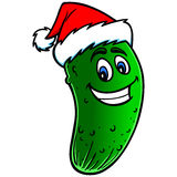 Christmas Pickle Cartoon Stock Photos