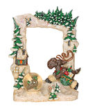 Christmas Picture Frame Stock Images