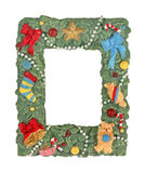 Christmas Picture Frame Royalty Free Stock Photography