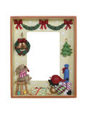 Christmas Picture Frame Royalty Free Stock Image