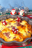 Christmas pie Stock Photo