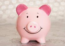 Christmas piggybank Stock Photos