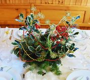 Christmas pine bouquet Royalty Free Stock Photography
