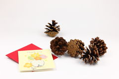 Christmas Pine Cone Royalty Free Stock Images