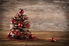 Christmas pine cone. Royalty Free Stock Image