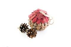 Christmas pine cone Royalty Free Stock Photo