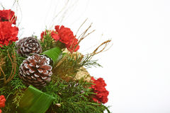 Christmas pine decoration royalty free stock photos