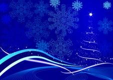 Christmas pine tree Stock Images