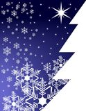 Christmas pine wallpaper Royalty Free Stock Photos