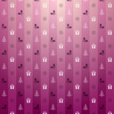 Christmas pink background Royalty Free Stock Image