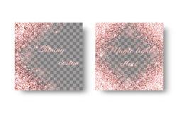 Christmas pink background stock illustration