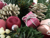 Christmas in Pinks Stock Photography
