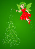 Christmas Pixie Royalty Free Stock Photos
