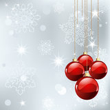Christmas place card Stock Photography