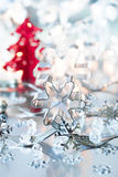 Christmas place setting Royalty Free Stock Photos