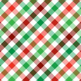 Christmas Plaid Royalty Free Stock Image