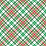Christmas Plaid Stock Photos