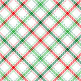 Christmas Plaid Royalty Free Stock Photography