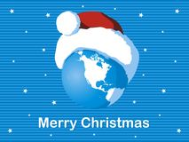 Christmas planet Stock Photography