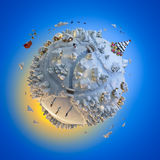 Christmas Planet Royalty Free Stock Image