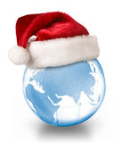 Christmas planet concept stock photography
