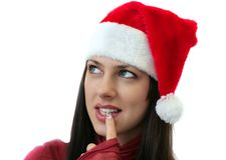Christmas planning Stock Photos