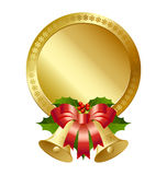 Christmas plaque Stock Photography