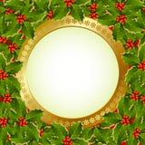 Christmas plaque Stock Photos