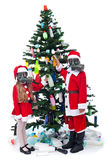 Christmas with plastic - environmental concept Stock Photography