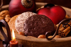 Christmas Plate Stock Images