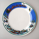Christmas plate Royalty Free Stock Image