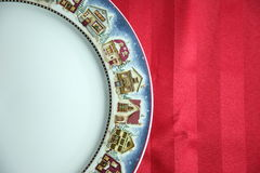 Christmas plate Royalty Free Stock Photography