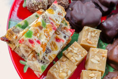 Christmas Platter Royalty Free Stock Photography