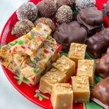 Christmas Platter Stock Images