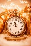 Christmas pocket watch Stock Image