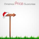 Christmas pointer, easy editable Stock Photo