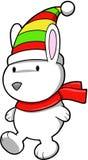 Christmas Polar Bear Royalty Free Stock Photography