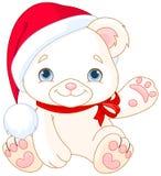 Christmas Polar Bear Royalty Free Stock Photos