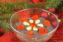 Christmas Polish dessert royalty free stock images