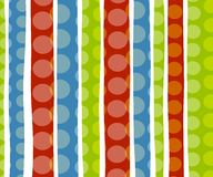 Christmas Polka Dot Background royalty free stock images