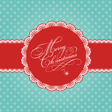 Christmas polka dot background Royalty Free Stock Photography