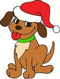 CHRISTMAS POOCH Stock Photos