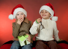 Christmas portrait Royalty Free Stock Photo