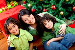 Christmas portrait Royalty Free Stock Photos