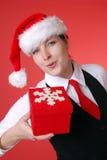 Christmas portrait Stock Photo