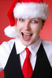 Christmas portrait Royalty Free Stock Images