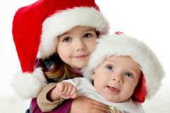 Free Christmas Portrait Royalty Free Stock Images - 1542439