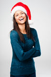 Christmas portrait Stock Images
