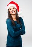 Christmas portrait Stock Images