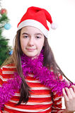 Christmas portrait Stock Image